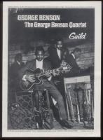 Now here is a blast from the past. 1969 with George Benson. The numbers were different back in those days but they were professionally the most rewarding times of my life.
